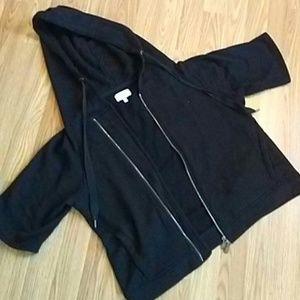 Lou & Grey  sweat shirt jacket size medium